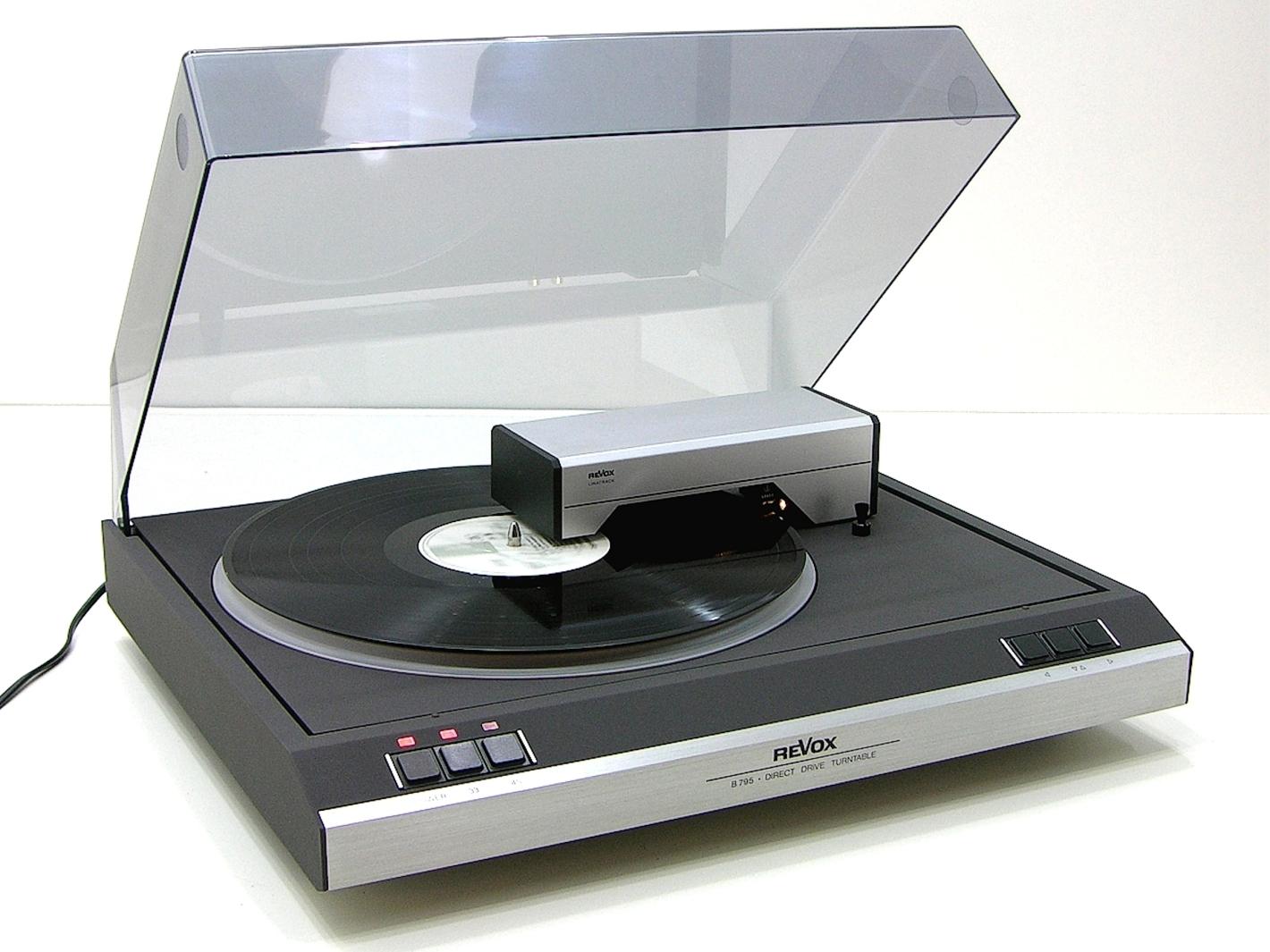 BEST vintage tocadiscos . Cuáles fueron A++++ Revox-b795
