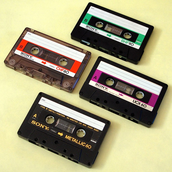 Sony cassettes